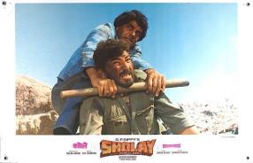 SHOLAY 1975 INDIA, FEATURE, ACTION, COLOUR, HINDI