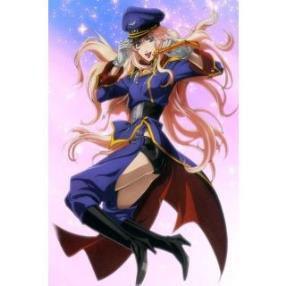 Macross Frontier Sheryl Nome Cool Unifrom Cosplay Costume