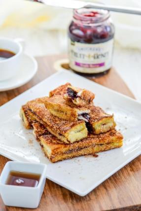 Fruit Spread Stuffed French Toast Sticks Recipe - ChefDeHome.com