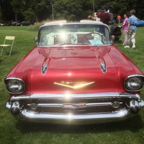 1957 Chevy Bel Air #cars #classic