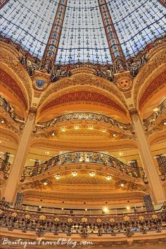 Amazing pictures of Galeries Lafayette in Paris