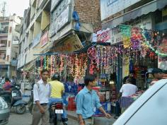Diwali weekend in Kotla Mubarak pur market