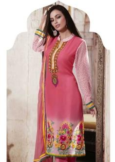 Pink Full Length Salwar Suit