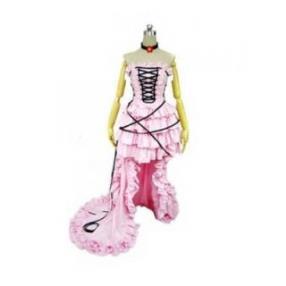 Chobits Chii Pink Dress Lolita Cosplay Costumes--CosplayDeal.com