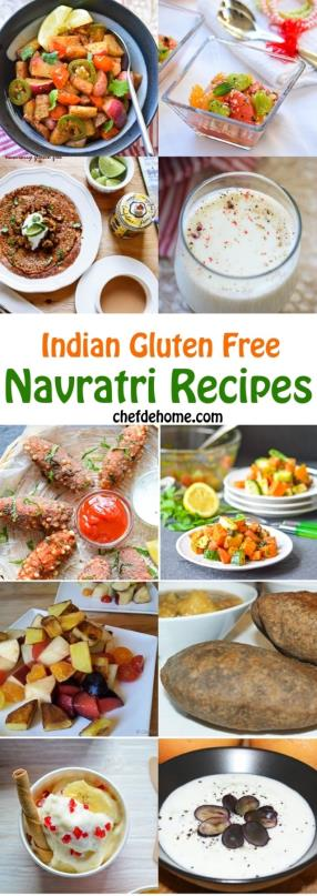Indian Navratri Fasts Gluten Free Recipes Round Up Meals - ChefDeHome.com
