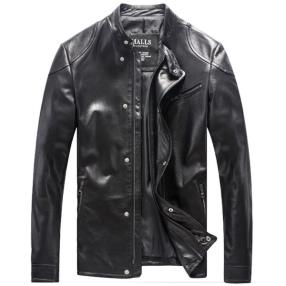 CWMALLS Leather Biker Jacket for Men CW806051