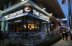 THE COUNTER custom built burger
