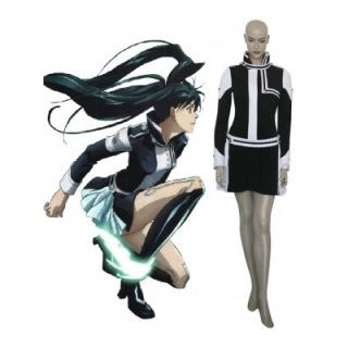 D.Gray-Man Lenalee Lee Black Cosplay Costume--CosplayDeal.com