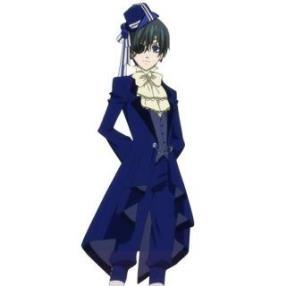 Kuroshitsuji Ciel Phantomhive Dance Suit Cosplay Costume--CosplayDeal.com