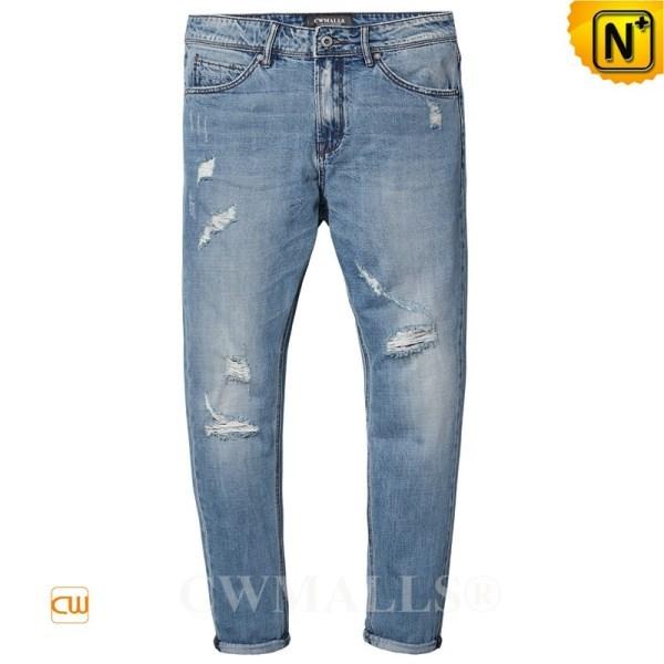 CWMALLS Ripped Stretch Denim Jeans CW107021