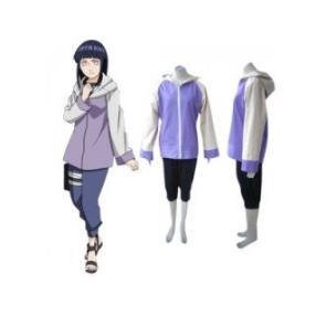 Naruto Hyuuga Hinata Womens Cosplay Costume