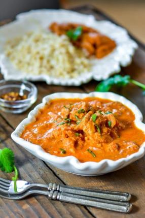 Restaurant Style Butter Chicken in Slow Cooker Recipe - ChefDeHome.com