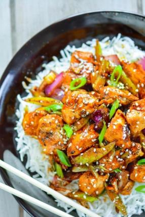 Chinese Black Pepper Chicken Recipe -ChefDeHome.com