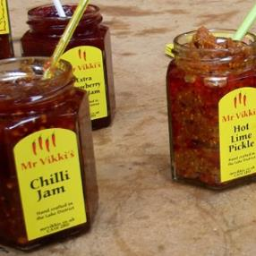Mr Viki's - A small bespoke Indian Fusion pickle producer in the beautiful Lake district Cumbria