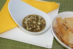 Roasted Corn and Tomatillo Salsa also called roasted - salsa verde and it is my favorite at any Mexican restaurants we visit. Tomatillos are considered a staple ingredient in Mexican cooking.