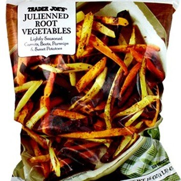 These colorful thinly sliced julienned root vegetables can be used just like French fries but these fries are naturally sweet, nutty dairy free and weight watcher friendly