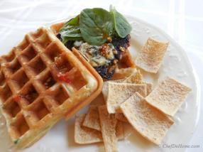 Everyone loves waffle for breakfast but my family also loves to enjoy waffles for lunch.