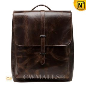 CWMALLS Vintage Leather Business Backpack CW907013