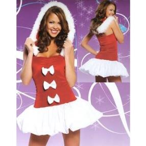 Jingle Bell Baby Adult Women Christmas Costume