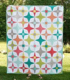 beautiful homemade quilt