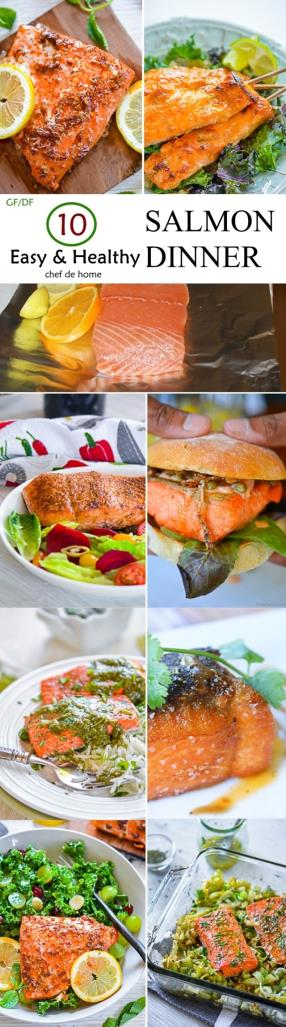 10 Easy and Healthy Salmon Recipes Meals -ChefDeHome.com
