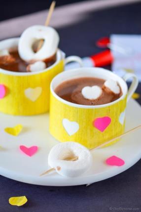 Skinny Hot Cocoa  - ChefDeHome.com