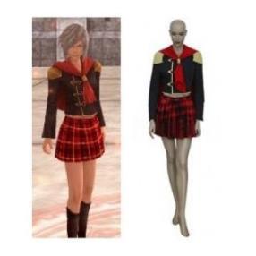 Final Fantasy Type-0 Suzaku Peristylium Class Zero Womens School Uniform Cosplay Costume