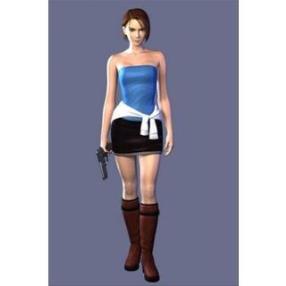 Resident Evil 3 Jill Valentin Cosplay Costume--CosplayDeal.com