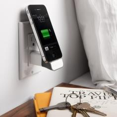 MiniDock allows you to charge your favorite iPhone or iPod with your existing Apple USB Power Adapter.