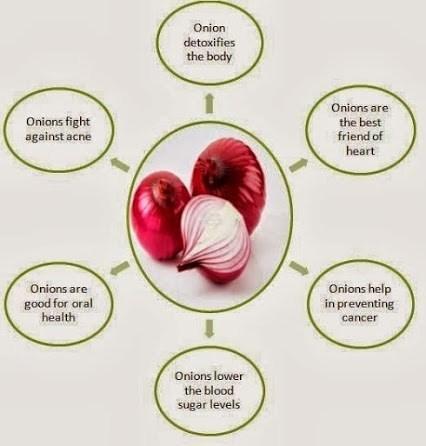 Health Benefits of Onion