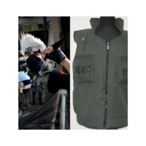 Naruto Hatake Kakashi Cool High Quality Waistcoat Cosplay Costume
