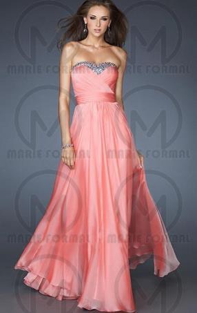 Pink Formal Dresses Australia Online 2016-marieaustralia.com