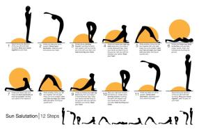 There are 12 completely different poses to do in a Surya Namaskar and also you are recognized to have completed a whole spherical while you have carried out two consecutive sets.