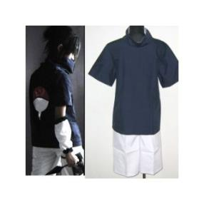 High Quality Naruto Sasuke Uchiha Cosplay Costume