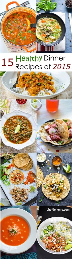15 Top Healthy Dinner Recipes for New Year Meals - ChefDeHome.com