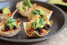 Tiny Taco cups Three ways
