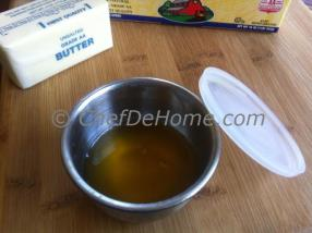 Clarified Butter or Ghee is considered purest form of oil that is used very often in Indian cooking and also used a lot to cook all sorts of food that are offered to God.