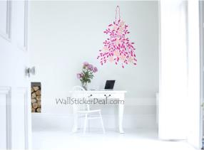 Happy Gift For Flower Wall Stickers