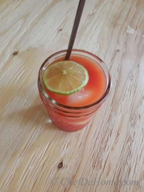 Skinny Citrus Tomato Punch