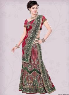 designer bridal dress from India