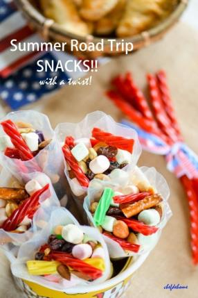 Summer Road Trip Snacks with Twizzlers Recipe - ChefDeHome.com