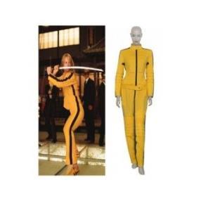 Kill Bill The Bride Yellow Cosplay Costume--CosplayDeal.com