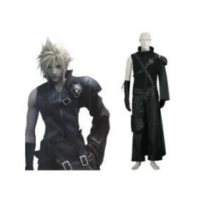 Final Fantasy VII 7 Advent Children Cloud Strife Cosplay Costume--CosplayDeal.com