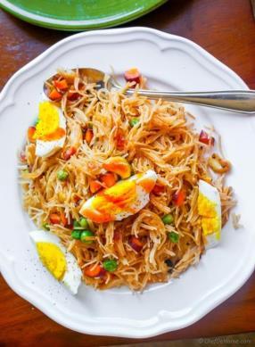 Indian Semiya Vermicelli Upma Recipe - ChefDeHome.com