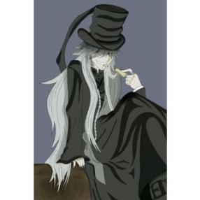 Kuroshitsuji Under Taker Cosplay Costume