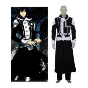 D.Gray-Man Kanda Yuu Black Cosplay Costume--CosplayDeal.com