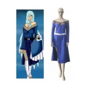 Naruto Godaime Mizukage Blue Cosplay Costume