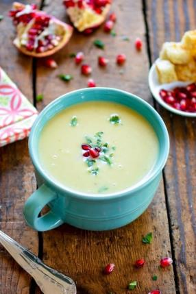 Creamy Potato Leek Soup in Pressure Cooker Recipe - ChefDeHome.com
