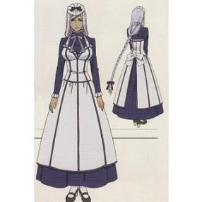 Kuroshitsuji II Hannah Anafeloz Cosplay Costume
