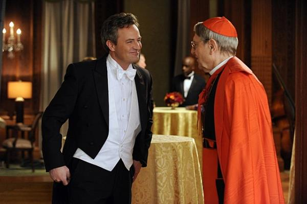 Matthew Perry and John Cullum on The Good Wife from - Death of a Client.